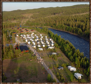 Idre Camping Top-view